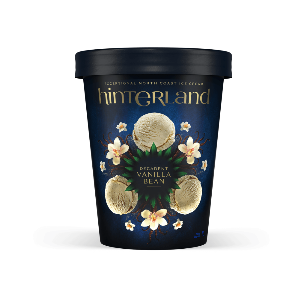 Hinterland Decadent Vanilla Bean Ice Cream